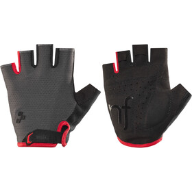 Cube Natural Fit Gloves Shortfinger grey'n'red